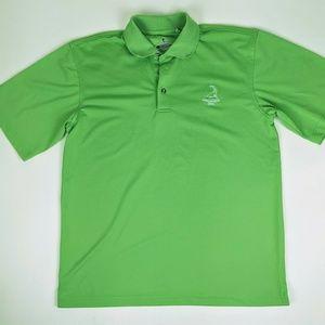 Pinehurst Lime Green Golf Polo Shirt S Small